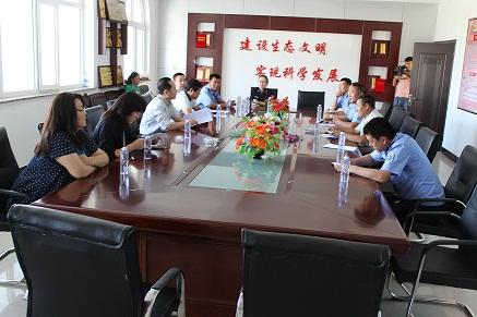 内蒙古自治区动物卫生监督专项督查组一行到镶黄旗